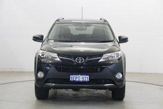 2014 Toyota RAV4 ASA44R MY14 Cruiser AWD Black 6 Speed Sports Automatic Wagon.