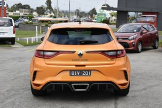 2019 Renault Megane BFB R.S. 280 EDC Orange 6 Speed Sports Automatic Dual Clutch Hatchback