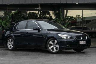2006 BMW 5 Series E60 525i Steptronic Blue 6 Speed Sports Automatic Sedan.