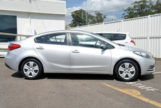 2014 Kia Cerato YD MY15 S Silver 6 Speed Sports Automatic Sedan.