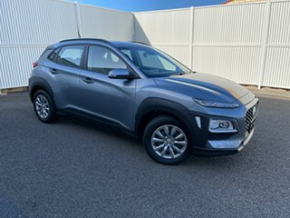2020 Hyundai Kona OS.3 MY20 Go 2WD Silver 6 Speed Sports Automatic Wagon.