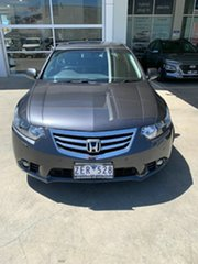2012 Honda Accord Euro CU MY12 Luxury Grey 5 Speed Automatic Sedan.