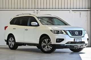 2017 Nissan Pathfinder R52 Series II MY17 ST X-tronic 2WD Ivory Pearl 1 Speed Constant Variable.