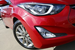 2014 Hyundai Elantra MD Series 2 (MD3) Trophy Red 6 Speed Automatic Sedan