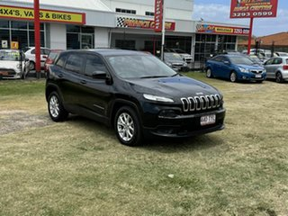 2014 Jeep Cherokee KL MY15 Sport Black 9 Speed Sports Automatic Wagon.