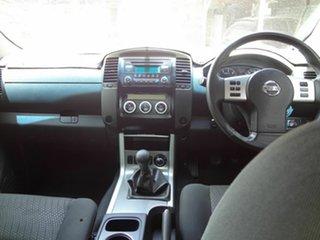 2012 Nissan Navara D40 MY12 ST (4x4) Red 6 Speed Manual Dual Cab Pick-up