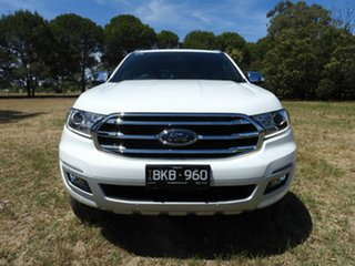 Ford Everest titanium White Automatic SUV