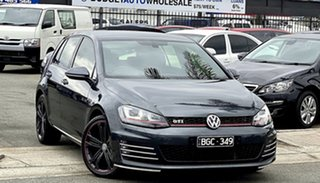2016 Volkswagen Golf VII MY17 GTI DSG Dark Grey 6 Speed Sports Automatic Dual Clutch Hatchback.