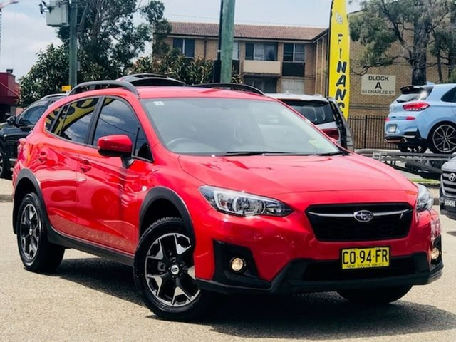 Used Subaru XV G5X MY18 2.0i Lineartronic AWD Liverpool, 2018 Subaru XV G5X MY18 2.0i Lineartronic AWD Red 7 Speed Constant Variable Wagon
