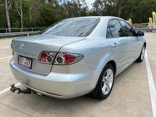 2006 Mazda 6 GG 05 Upgrade Classic Silver 5 Speed Auto Activematic Sedan.