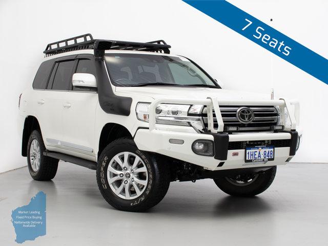 Used Toyota Landcruiser VDJ200R MY16 Sahara (4x4), 2016 Toyota Landcruiser VDJ200R MY16 Sahara (4x4) White 6 Speed Automatic Wagon