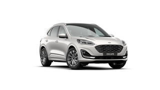 2021 Ford Escape ZH MY21.25 Vignale (AWD) White Platinum 8 Speed Automatic SUV