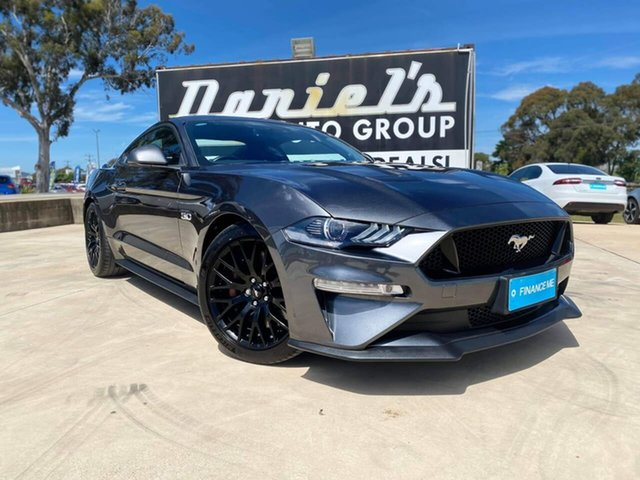 Used Ford Mustang GT Goulburn, 2018 Ford Mustang GT Magnetic Sports Automatic Fastback