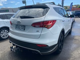 2015 Hyundai Santa Fe DM2 MY15 SR White 6 Speed Sports Automatic Wagon.