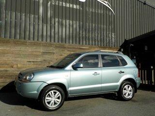 2009 Hyundai Tucson JM MY09 City SX Green 4 Speed Sports Automatic Wagon