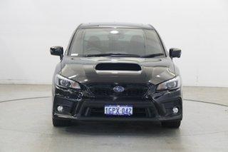 2018 Subaru WRX V1 MY19 Premium AWD Black 6 Speed Manual Sedan.