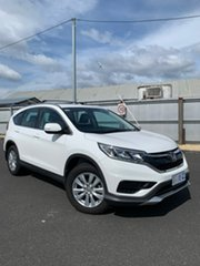 2016 Honda CR-V RM Series II MY17 VTi 4WD White 5 Speed Sports Automatic Wagon.