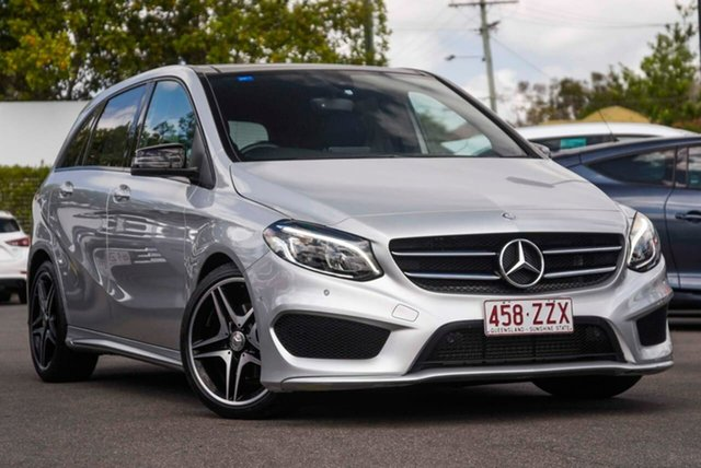 Used Mercedes-Benz B-Class W246 806MY B200 DCT Mount Gravatt, 2015 Mercedes-Benz B-Class W246 806MY B200 DCT Silver 7 Speed Sports Automatic Dual Clutch Hatchback