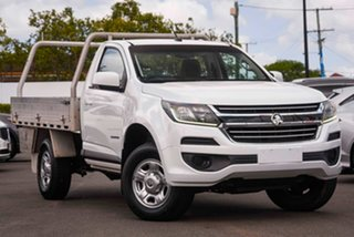 2016 Holden Colorado RG MY16 LS 4x2 White 6 Speed Sports Automatic Cab Chassis.