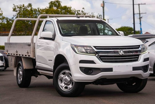 Used Holden Colorado RG MY16 LS 4x2 Mount Gravatt, 2016 Holden Colorado RG MY16 LS 4x2 White 6 Speed Sports Automatic Cab Chassis
