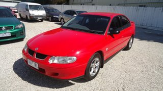 2002 Holden Commodore VX II Acclaim Red 4 Speed Automatic Sedan