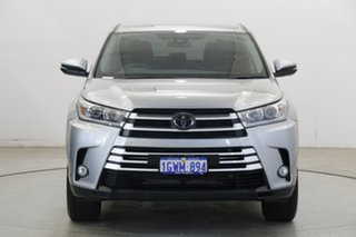 2019 Toyota Kluger GSU50R GX 2WD Silver 8 Speed Sports Automatic Wagon.
