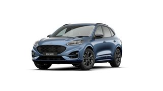 2020 Ford Escape ZH 2021.25MY ST-Line Blue Metallic 8 Speed Sports Automatic SUV.