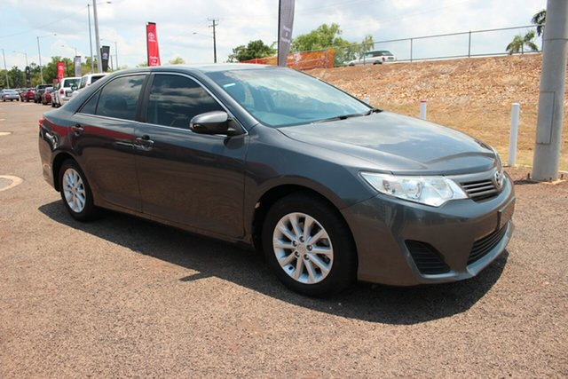 Pre-Owned Toyota Camry ASV50R Altise Darwin, 2014 Toyota Camry ASV50R Altise Graphite 6 Speed Automatic Sedan