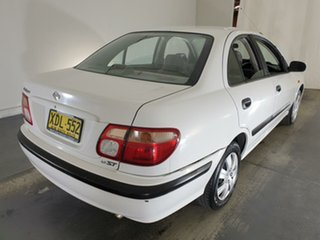2001 Nissan Pulsar N16 ST White 4 Speed Automatic Sedan