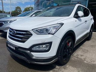 2015 Hyundai Santa Fe DM2 MY15 SR White 6 Speed Sports Automatic Wagon