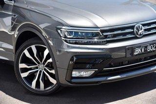 2016 Volkswagen Tiguan 162TSI Highline Grey 7SPD DSG TRANS Wagon.