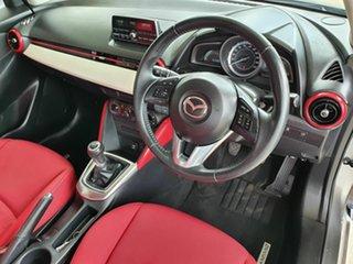 2014 Mazda 2 DJ Genki Silver 5 Speed Manual Hatchback.