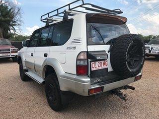 1998 Toyota Landcruiser Prado VZJ95R GXL Abalone White 4 Speed Automatic Wagon