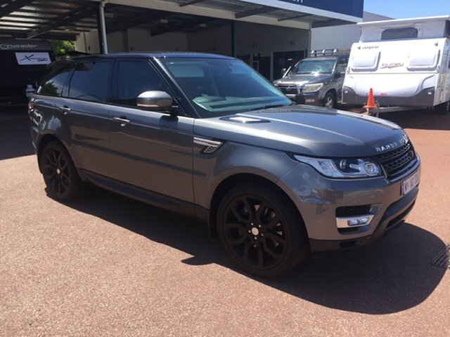 Used Land Rover Range Rover LW Sport SDV8 HSE St James, 2015 Land Rover Range Rover LW Sport SDV8 HSE Grey 8 Speed Automatic Wagon