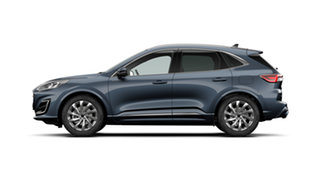 2020 Ford Escape ZH 2020.75MY Vignale AWD Blue Panther 8 Speed Sports Automatic SUV.