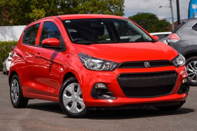 Used Holden Spark MP MY17 LS Mount Gravatt, 2017 Holden Spark MP MY17 LS Red 1 Speed Constant Variable Hatchback