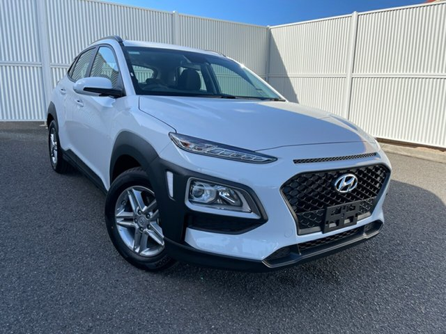 New Hyundai Kona OS.3 MY20 Active 2WD Gladstone, 2020 Hyundai Kona OS.3 MY20 Active 2WD White 6 Speed Sports Automatic Wagon