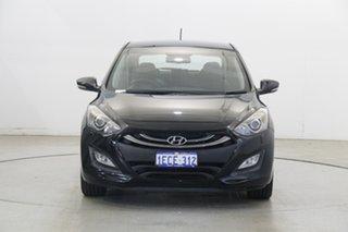 2012 Hyundai i30 GD Premium Phantom Black 6 Speed Sports Automatic Hatchback.