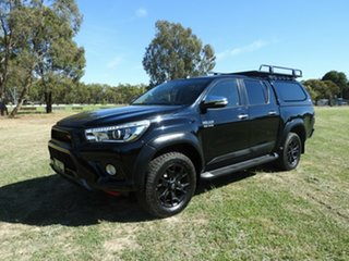 Toyota Hilux SR5 Black 6 Speed Automatic Utility.