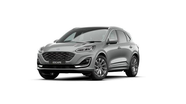 New Ford Escape ZH 2021.25MY Vignale Homebush, 2020 Ford Escape ZH 2021.25MY Vignale Solar Silver 8 Speed Sports Automatic SUV