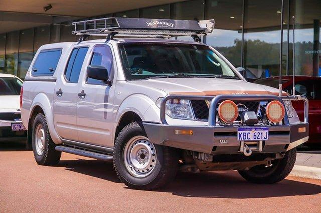 Used Nissan Navara D40 S6 MY12 RX 4x2 Gosnells, 2012 Nissan Navara D40 S6 MY12 RX 4x2 Silver 6 Speed Manual Utility