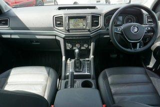 2018 Volkswagen Amarok 2H MY18 TDI550 4MOTION Perm Highline Candy White 8 Speed Automatic Utility