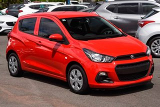 2017 Holden Spark MP MY17 LS Red 1 Speed Constant Variable Hatchback.