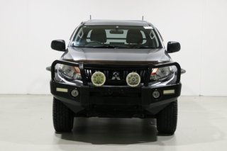 2016 Mitsubishi Triton MQ MY16 Upgrade GLX (4x4) Graphite 6 Speed Manual Club Cab Chassis.