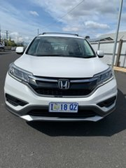 2016 Honda CR-V RM Series II MY17 VTi 4WD White 5 Speed Sports Automatic Wagon