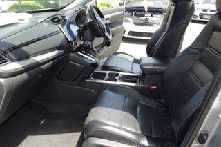 2017 Honda CR-V RW MY18 VTi-LX 4WD Silver 1 Speed Constant Variable Wagon