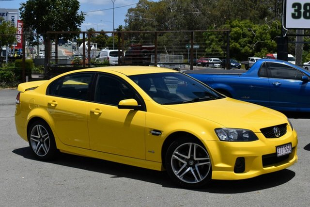 Used Holden Commodore VE II MY12 SV6 Underwood, 2011 Holden Commodore VE II MY12 SV6 Yellow 6 Speed Automatic Sedan