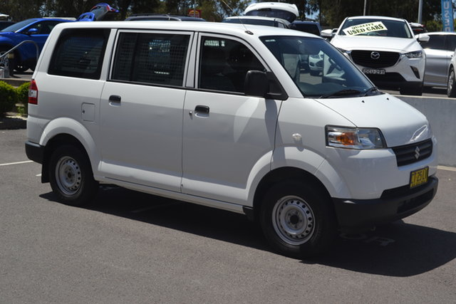 Used Suzuki APV Maitland, 2013 Suzuki APV White 5 Speed Manual Van