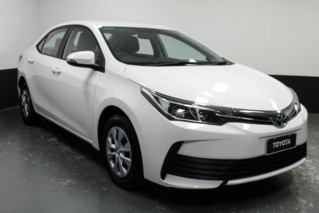 Used Toyota Corolla ZRE172R Ascent S-CVT Cardiff, 2018 Toyota Corolla ZRE172R Ascent S-CVT White 7 Speed Constant Variable Sedan