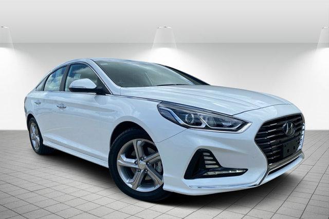 Used Hyundai Sonata LF4 MY18 Active Hervey Bay, 2017 Hyundai Sonata LF4 MY18 Active White 6 Speed Sports Automatic Sedan